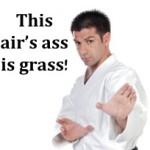 This air's ass is grass