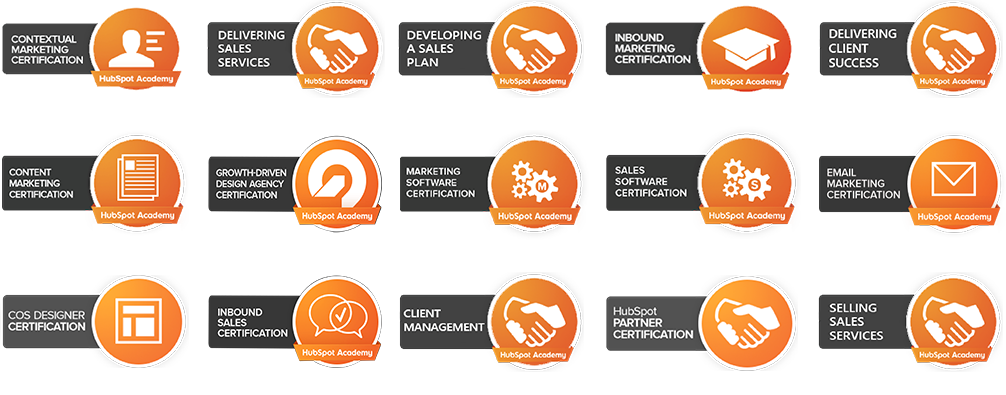 Certifications Page Certification Badges