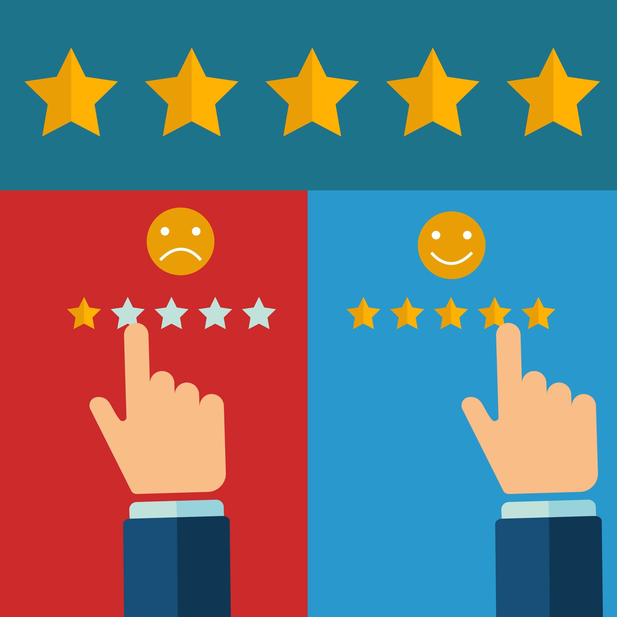 testimonial, review, stars, customer feedback