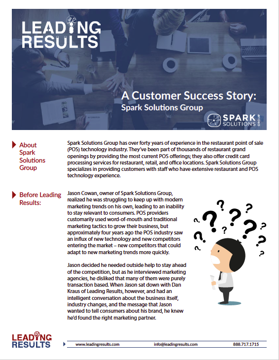 Spark Solutions Case Study