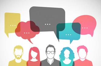 discussion, talking, conversation, speech bubbles