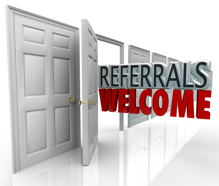 making referrals easy open door image