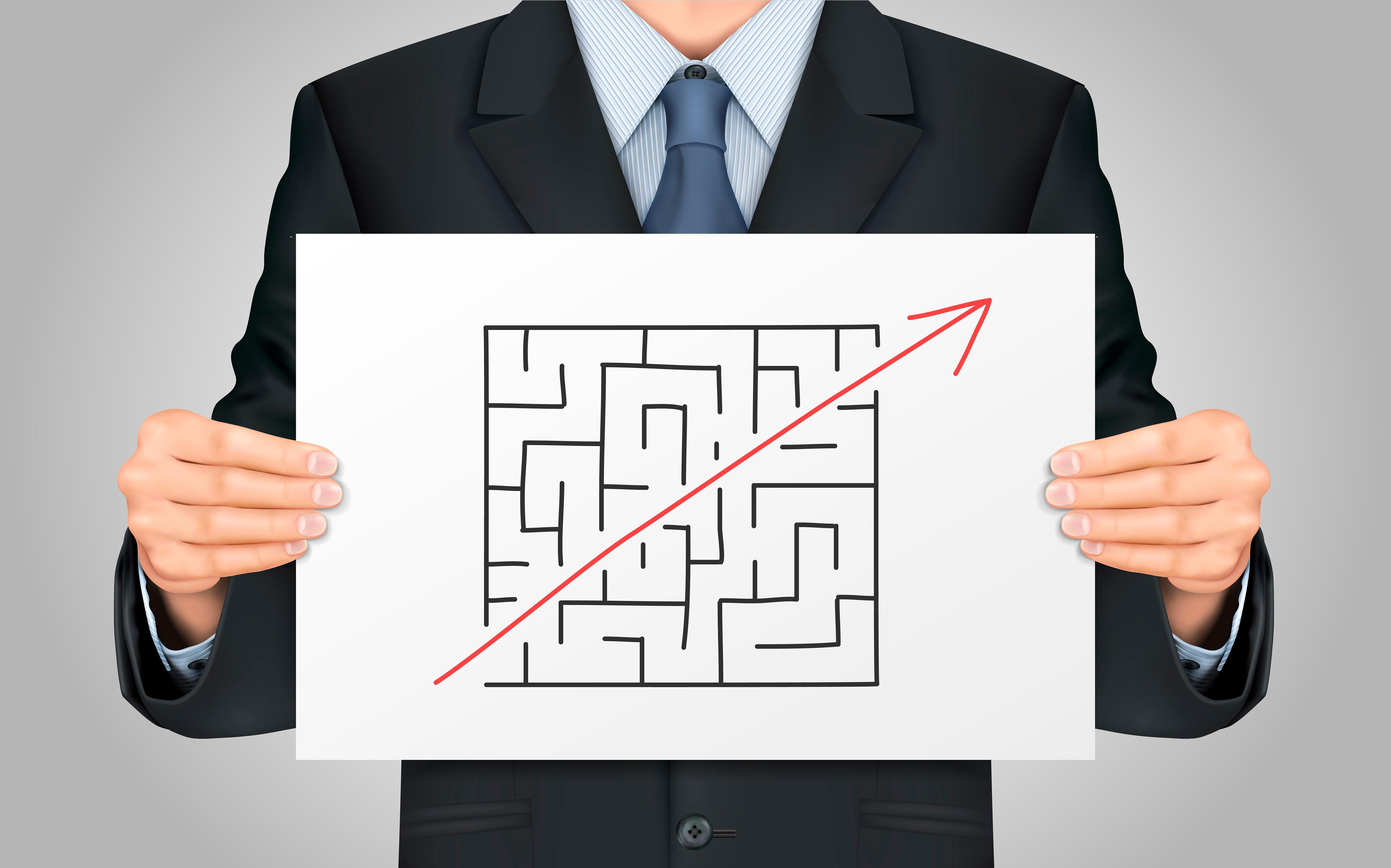 maze, shortcut, break rules, path, cheat