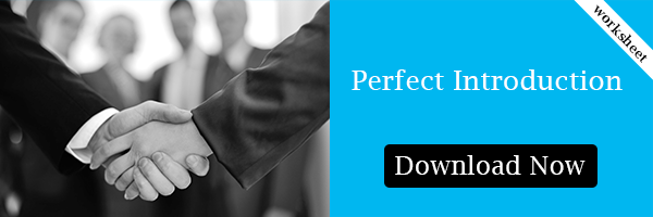 Perfect Introduction the ideal tool to make referrals easier