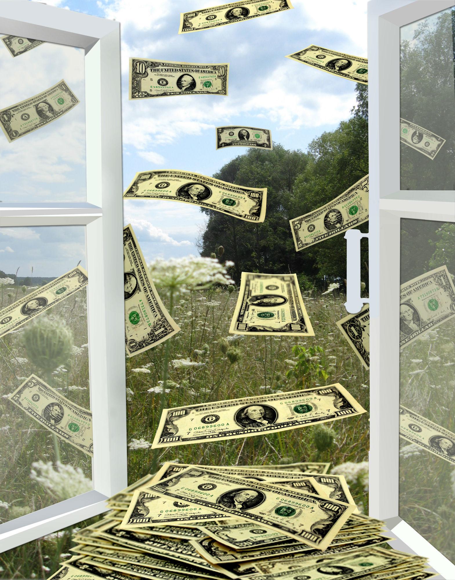 money flying, window.jpg